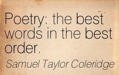 coleridges poetry samuel taylor coleridge essay To nature analysis author: poetry of samuel taylor coleridge  essay to draw from all created things  to nature analysis samuel taylor coleridge critical .